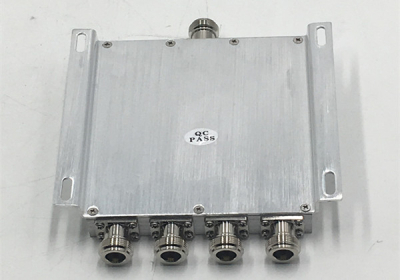300~500MHz UHF 4 way Power Splitter or Power Divider or Power Combiner Components