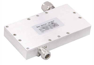 Dual Coaxial Isolator Precision Machined Components